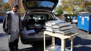 CELEBRATING ASBURY METHODIST VILLAGE A GIVING COMMUNITY shawnasbury-w-330-lbs-of-food