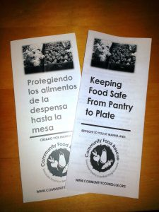 UNSUNG HEROES FOOD ASSISTANCE PROVIDERS PART 2 food-safety-brochures